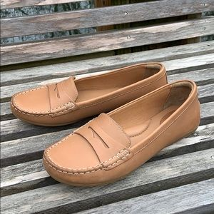 Clark's Leather Slip-on Penny Loafers size 8